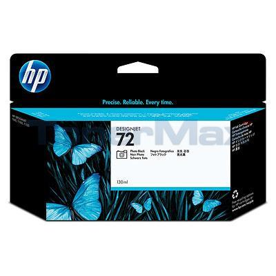 HP NO 72 INK PHOTO BLACK 130ML